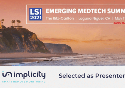 Upcoming event: LSI 2021 EMERGING MEDTECH SUMMIT